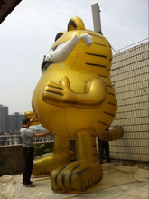 Large inflatable Garfield /inflatable cartoon simulation/ inflatable advertising model professional custom
