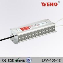 100w voltage regulator 12 volt ac dc constant current led driver