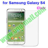Clear Screen Protector for Samsung Galaxy S4/SIV/i9500