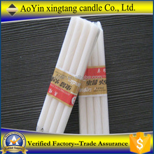 White paraffin wax plain Candle to Gabon -- 8613126126515