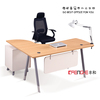 Modern wooden Melamine top change color office desk and office table