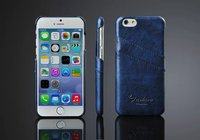 Wholesale mobile phone accessories fashional back case for iphone 6 housing pu leather