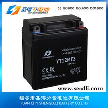 12V 3Ah Strong Power Normal Motorcycle Lead Acid Battery/Motorcycle Parts In Iran