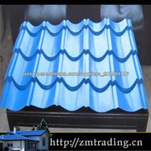zincado telha ondulada galvanizado chapa de cobertura