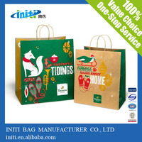 Alibaba China High Quality Reusable Promotional gift paper bag