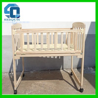 Unique best-selling folding wooden baby bed