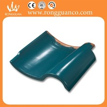 Clay matt finish roofing tile