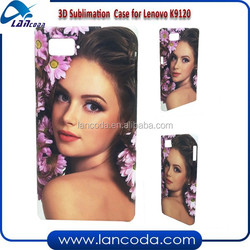 hard plastic sublimation cover 3d for Lenovo K920,sublimation blanks,blank sublimation cell phone case