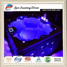 combo massage air & whirlpool outdoor hot tub for 4 place