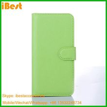 iBest mony pocket credit card slots wallet leather caser For htc one m9, Genuine Leather Case Wallt For Htc One M9