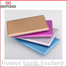 AK-05 Promotion Mini Card 1800mah credit card power bank, Portable power bank