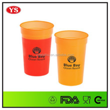 16 OZ cold water plastic color changing cup