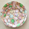 Household and beautiful plastic dinner tray