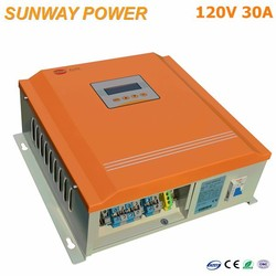10a 30a ce rohs solar charge controller mppt for home solar use 120v