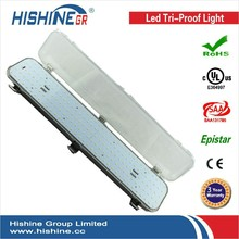 CE RoHS 1200mm 40W 50W IP65 commercial led parking lot lighting