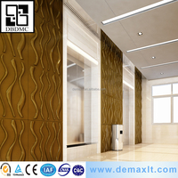wholesale housdhold pvc 3d wall paper for commerce usage from china