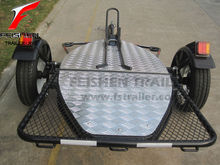 Folding motorcycle trailer MT501 for motorbike(black powder coated)