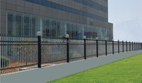 high quality types of metal fence with modern style