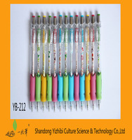 Wholesale high quality promotional colorful cheap plastic ball pen