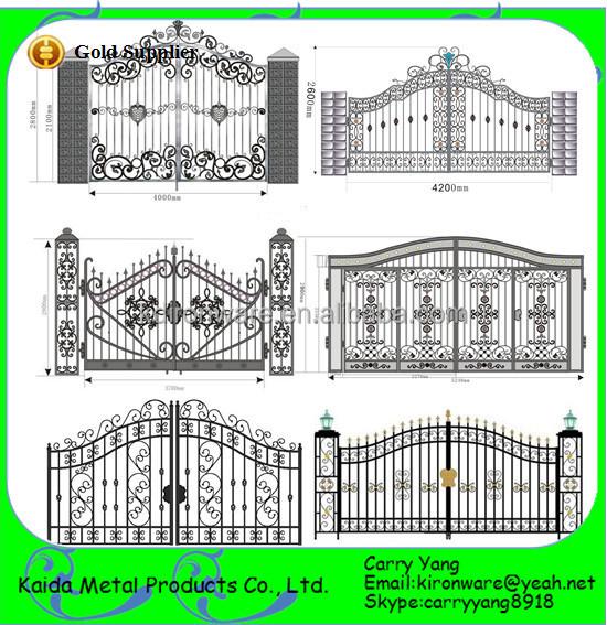 New Decorative Wrought Iron Main Gate Design Wrought Iron Gates Models Buy Iron Gates Wrought