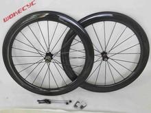 2015 nueva bicicleta del carbón 700c, 50 mm bici del camino del remachador wheelset