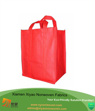 Reusable Reinforced Handle Grocery Tote Bag Large