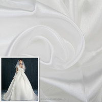 Polyester fabric for wedding draping fabric and evening gown fabric