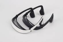 Bone Conduction Wireless Stereo Bluetooth Headphones Headset Hands-free Earphone Fit for Outdoor Sports