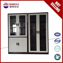 knock down structure purple and white steel cupboard