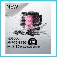 "SJ5000 Full HD helmet 1080P 2.0""LCD Sport Action Camera 170 Degree 30M Waterproof Sport Video DV go pro camera style"
