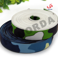 Military belt webbing sublimation printing polylon webbing