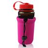 funny wine bottle holder/water bottleholder with drawstring/bottle cooler bag holder