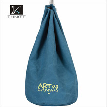 Wholesale canvas heavy duty drawstring backpack