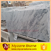 hot sale polished cheap Guangxi white marble for living floor tiles
