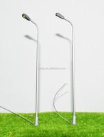 Scale 1/50 Single Head Copper Architectural Model Scale Street Light in 20cm