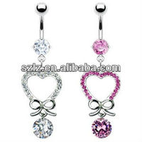 cast best-selling fake belly rings