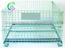 YD-K004 Folding Steel Roll Cage/Metal Storage Cage/Metal Cage Storage Container