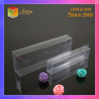 Custom Foldable Waterproof Small Rectangular Plastic Transparent Box/Clear Plastic Box