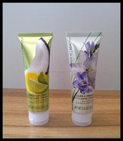Plastic laminated cosmetic tube packaging