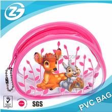 Mini pvc pouch, Plastic zero wallet, pvc change purse