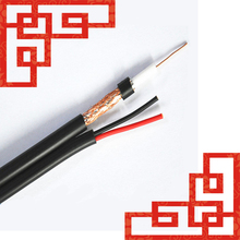 ETL, RoHS Approval, Cable Manufacturer! RG6 with Power Cable-RG6 Coaxial Cable for CCTV Camera Cable-RG6 Siamese Cable Specs