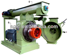 HOT SALE 8MM RING DIE PELLET MILL WITH GEAR DRIVEN