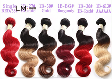 wholesale hair colorful top quality no tangle synthetic hair weft