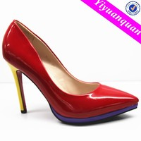 Multicolor Italian Ladies shoes from China Shoes Factory