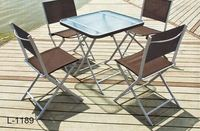 All Weahter patio furniture tile top table