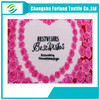 high quality alibaba china heart print flannel fabric