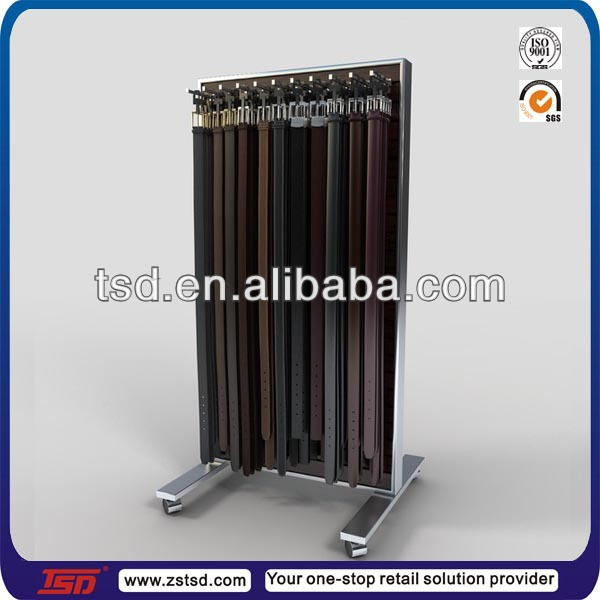 Tsd m301 Free Standing Double Sided Fashion Belt Display