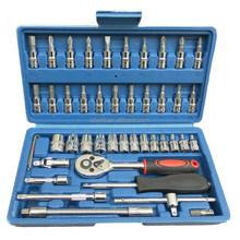 Car Kit, 46PCS Auto Repair Tools Car Kit For Emergency