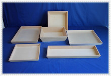 2015 cheap handmade eco friendly unfinished wooden serving tray