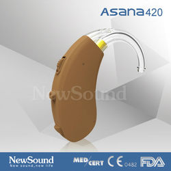 Digital Programmable Air Audio Amplifier Hearing Aids no Screw Design